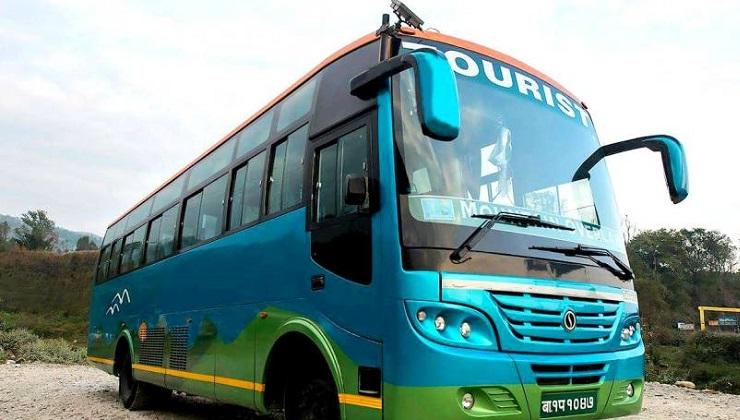 Bus touristique de luxe