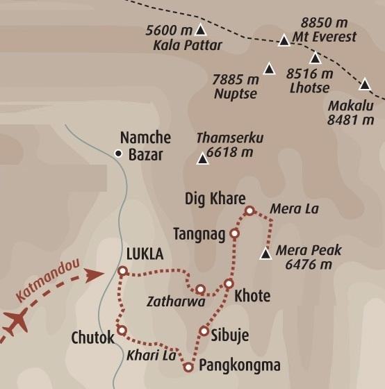 Mera Peak 6476m