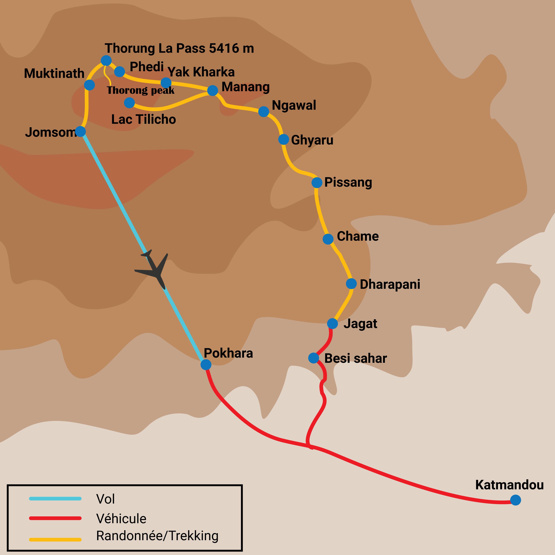 Thorong Peak 6144m